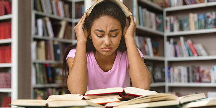 Student Struggling with University Pressure