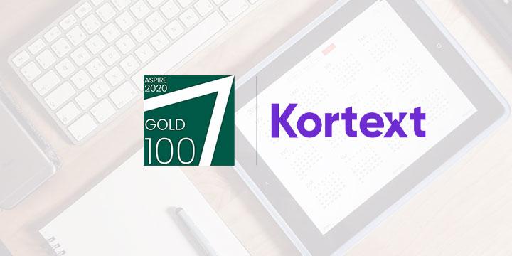 ASPIRE awards Kortext