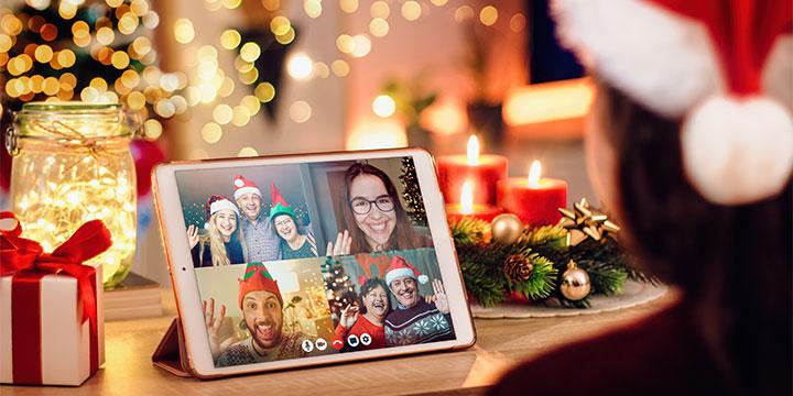 Virtual Christmas Image