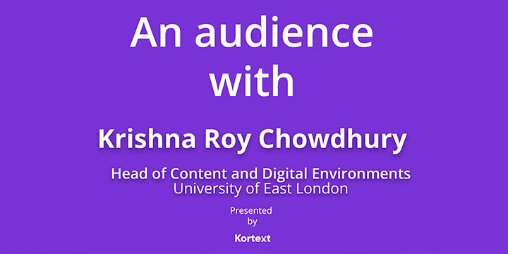 An Audience with Krishna Ray Image