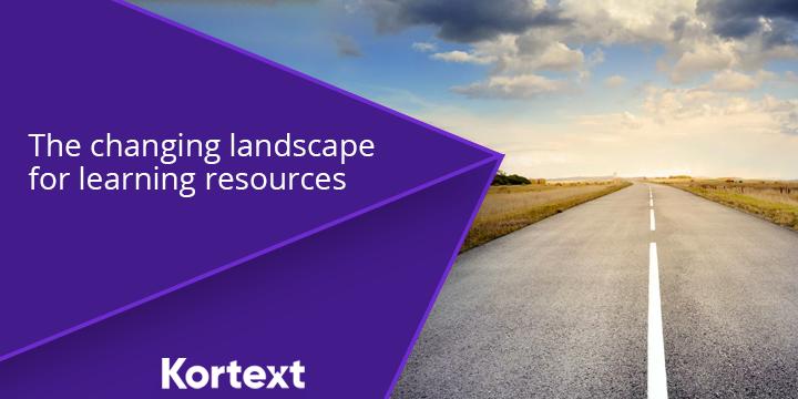 The changing landscape for learning resources